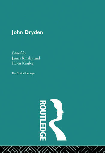 John Dryden The Critical Heritage book cover