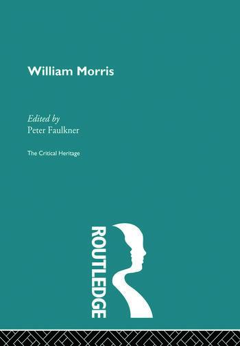 William Morris The Critical Heritage book cover