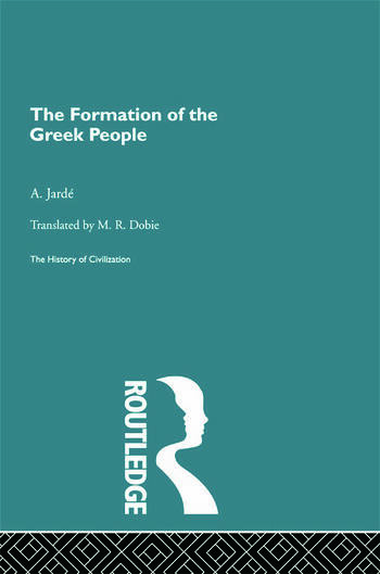 The Formation of the Greek People book cover