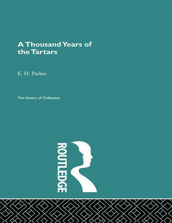 A Thousand Years of the Tartars book cover