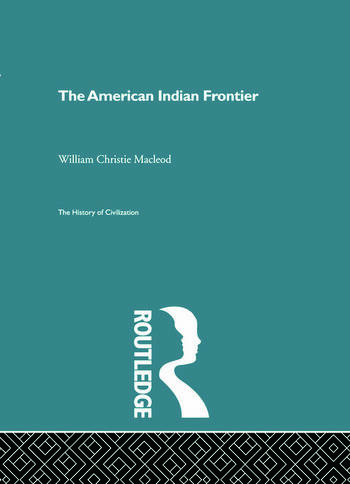 The American Indian Frontier book cover