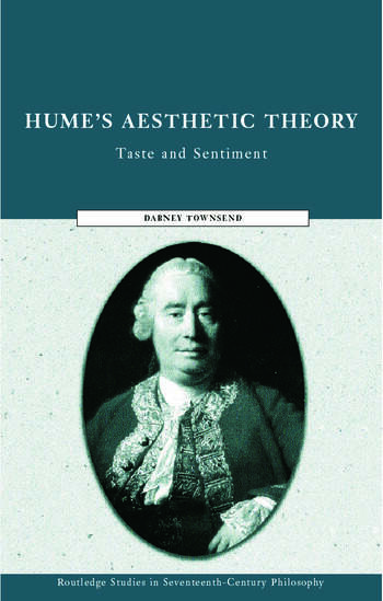 Hume's Aesthetic Theory Sentiment and Taste in the History of Aesthetics book cover