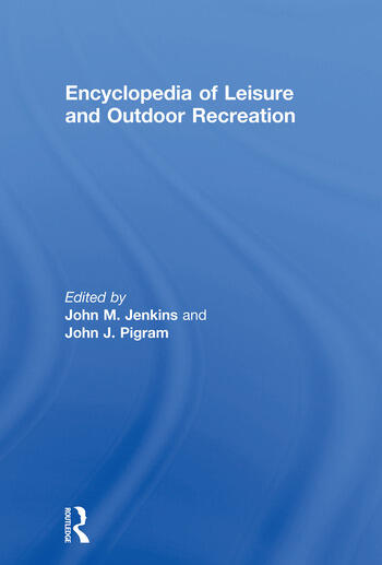 Encyclopedia of Leisure and Outdoor Recreation book cover
