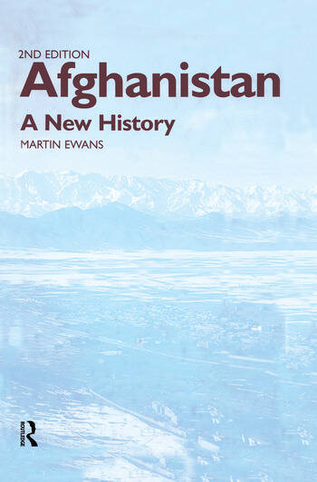 Afghanistan - A New History book cover