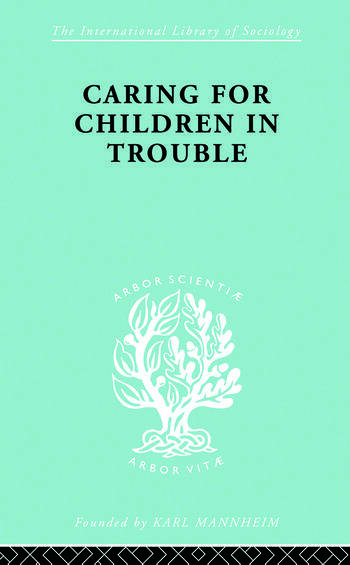 Caring Children Troubl Ils 140 book cover