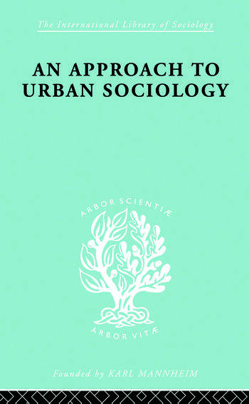 Approach Urban Sociol Ils 168 book cover