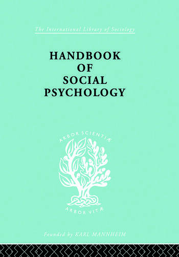 Handbook of Social Psychology book cover