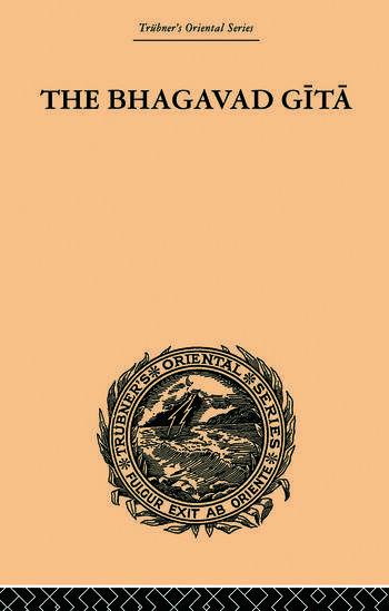 Hindu Philosophy Bhagavad Gita or, The Sacred Lay book cover
