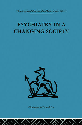 Psychiatry in a Changing Society book cover