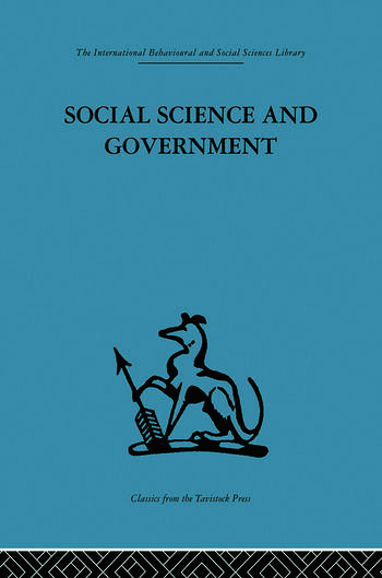 Social Science and Government Policies and problems book cover