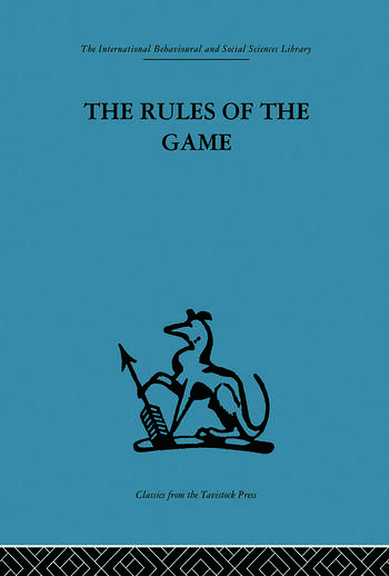 The Rules of the Game Interdisciplinarity, transdisciplinarity and analytical models in scholarly thought book cover