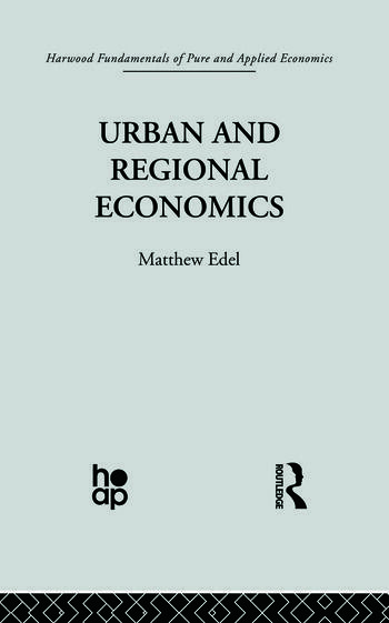 Urban and Regional Economics Marxist Perspectives book cover
