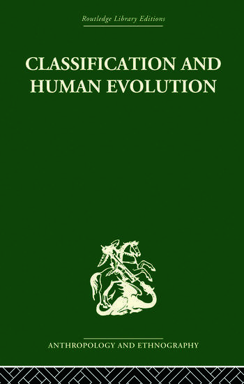 Classification and Human Evolution book cover