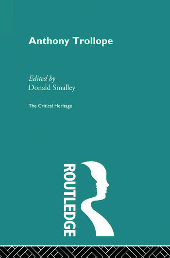 Anthony Trollope The Critical Heritage book cover