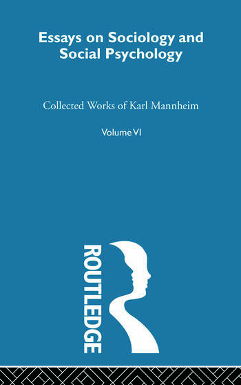 Essays Soc & Social Psych V 6 book cover