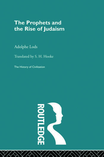 The Prophets and the Rise of Judaism book cover