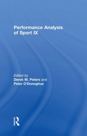 Performance Analysis of Sport IX book cover