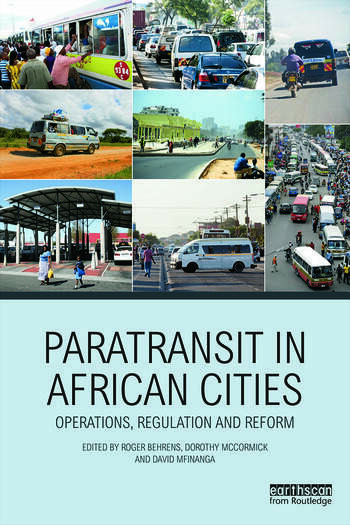 Paratransit in African Cities Operations, Regulation and Reform book cover