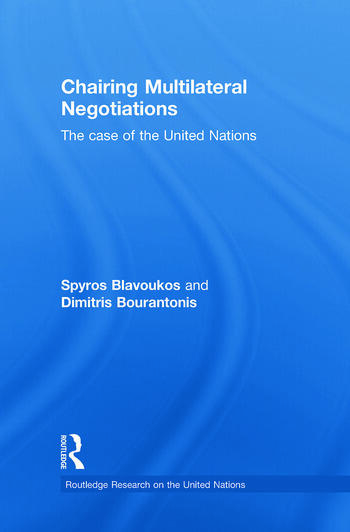 Chairing Multilateral Negotiations The Case of the United Nations book cover