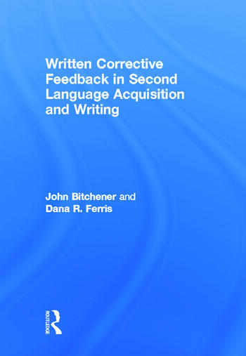 error correction in second language writing Implications for classroom teaching by diane j tedick, university of minnesota, with barbara de gortari, 1st grade teacher forest glen spanish immersion elementary school, indianapolis, indiana.