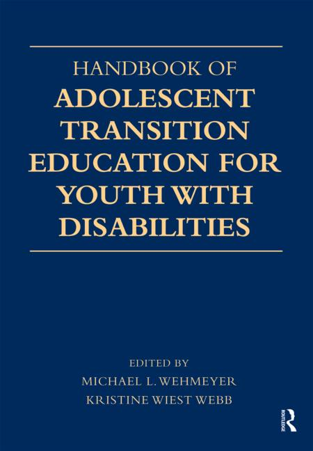 Handbook of Adolescent Transition Education for Youth with Disabilities book cover