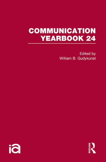Communication Yearbook 24 book cover