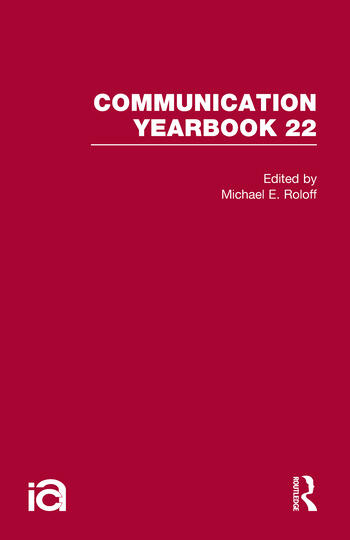 Communication Yearbook 22 book cover