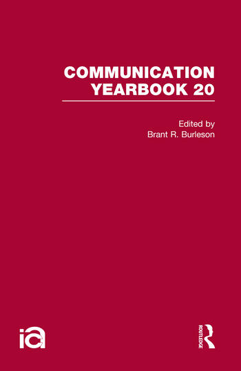 Communication Yearbook 20 book cover