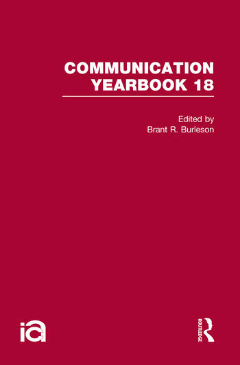 Communication Yearbook 18 book cover