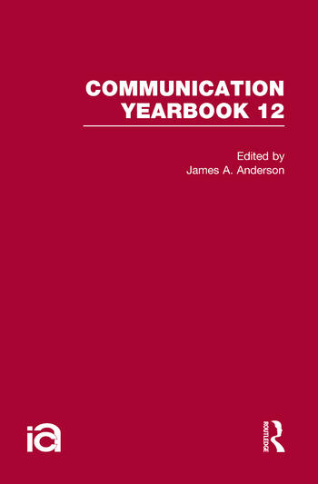 Communication Yearbook 12 book cover