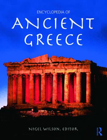 Encyclopedia of Ancient Greece book cover
