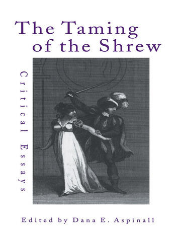The Taming of the Shrew Critical Essays book cover