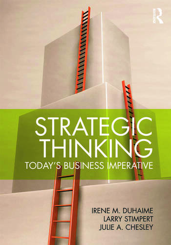 Strategic Thinking Today's Business Imperative book cover