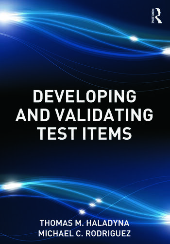 Developing and Validating Test Items book cover