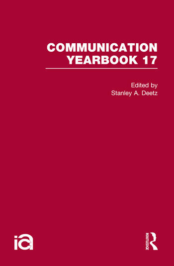 Communication Yearbook 17 book cover
