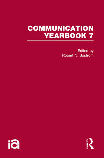 Communication Yearbook 7 book cover