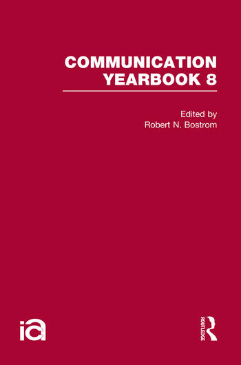 Communication Yearbook 8 book cover