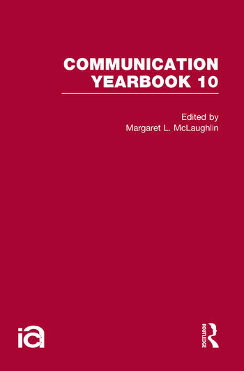 Communication Yearbook 10 book cover