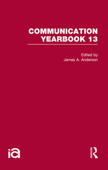 Communication Yearbook 13 book cover