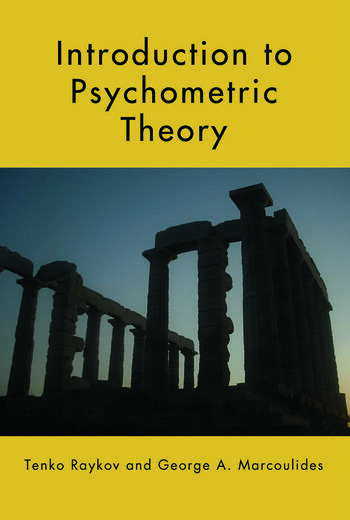 Introduction to Psychometric Theory book cover