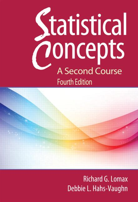 Statistical Concepts - A Second Course book cover