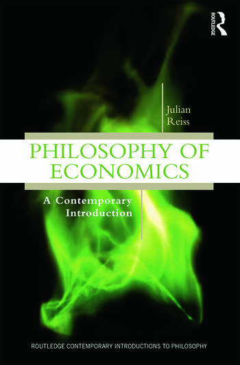 Philosophy of Economics A Contemporary Introduction book cover