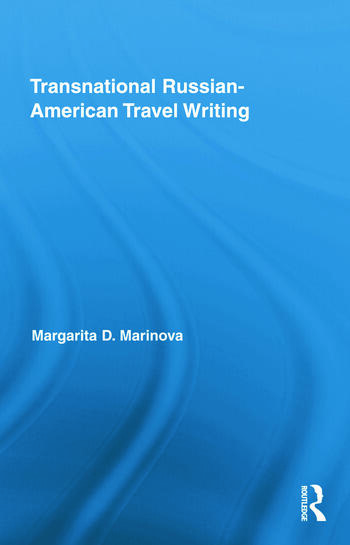 Transnational Russian-American Travel Writing book cover