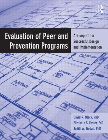 Evaluation of Peer and Prevention Programs A Blueprint for Successful Design and Implementation book cover
