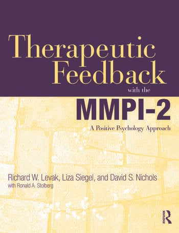 Therapeutic Feedback with the MMPI-2 A Positive Psychology Approach book cover