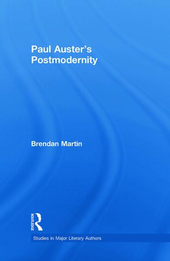 Paul Auster's Postmodernity book cover
