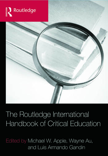 The Routledge International Handbook of Critical Education book cover