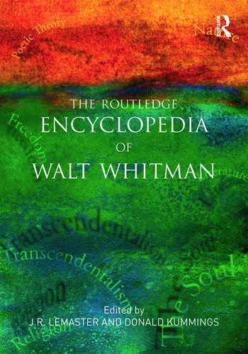 The Routledge Encyclopedia of Walt Whitman book cover