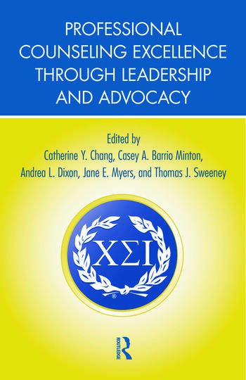 Professional Counseling Excellence through Leadership and Advocacy book cover