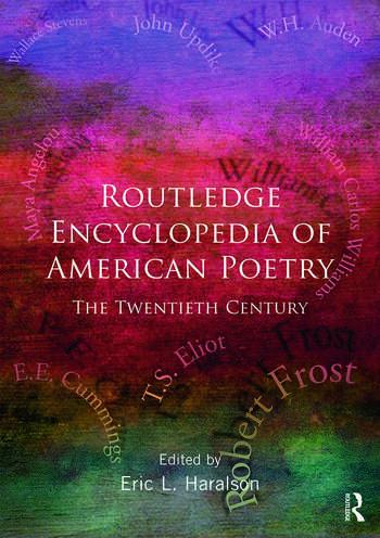 Encyclopedia of American Poetry: The Twentieth Century book cover